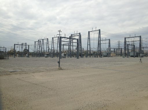SCE substation