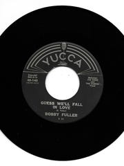 """Side 2 of Bobby Fuller's first single on the Yucca label was """"Guess We'll Fall in Love."""" Yucca owner Calvin Boles recorded it, according to Bobby Fuller contemporary Rod Crosby."""