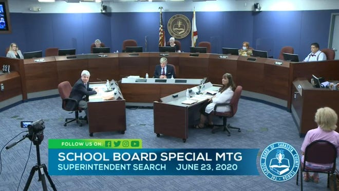 The Sarasota County School Board decided to promote all five school superintendent semifinalists to the role of finalist during  a special meeting Tuesday afternoon at The Landings.