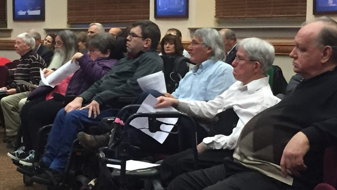 Paratransit users and other advocates for people with disabilities were unsuccessful Tuesday night in convincing the City Council not to raise paratransit rates.
