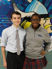 Kyle Borowski and Tonna Obaze have been named Commended Students in the 2015 National Merit Scholarship Program.