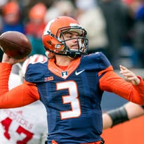 Ex-Illinois QB Jeff George Jr. appears headed to UM as grad walk-on