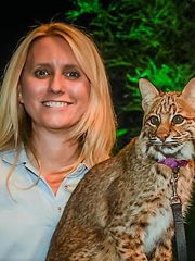 Amy Kight, director of Busch Wildlife Sanctuary in