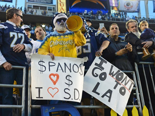 Many Chargers fans wouldn't follow the team and owner