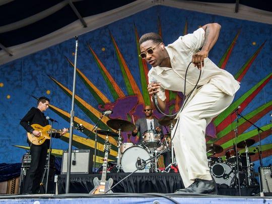 Dynamic R&B singer Leon Bridges plays the Orpheum in April.