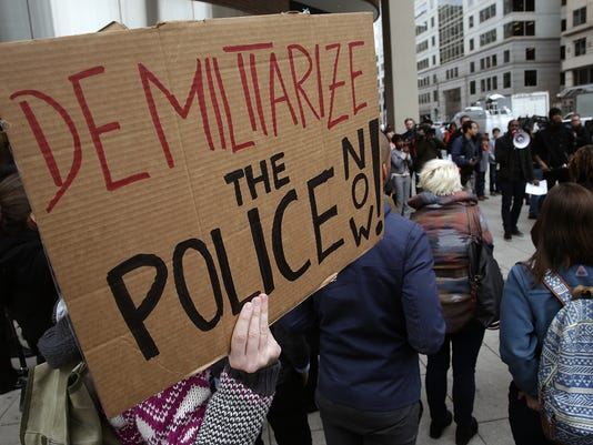 Protests Continue In DC One Day After Ferguson Grand Jury Decision