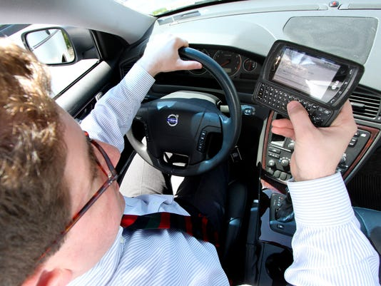 TEXTING WHILE DRIVING 5-5-11