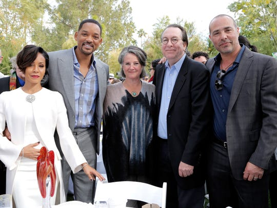 Jada Pinkett Smith, Will Smith, Helen du Toit, Steve Gaydos, and Peter Landesman.