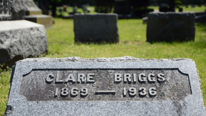 Clare Briggs was the first female city commissioner in Battle Creek. It would be nearly 50 years after she served before another woman would be elected. Briggs is buried at Oak Hill Cemetery.