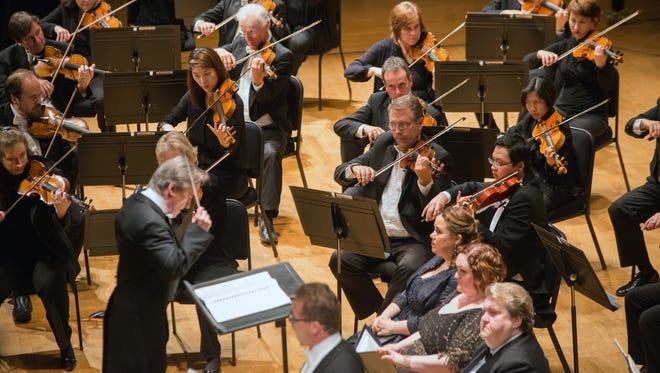 """The Cincinnati Symphony Orchestra performs Mendelssohn's """"Elijah"""" on the final evening of May Festival 2016. The orchestra received the most amount of money in the latest rounds of grants from ArtsWave."""