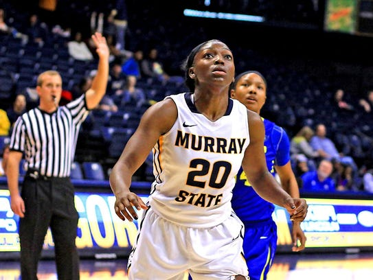 Former South Side player Ke'Shunan James was named OVC player of the year after averaging 21.3 points per game and 8.2 rebounds per game for Murray State.