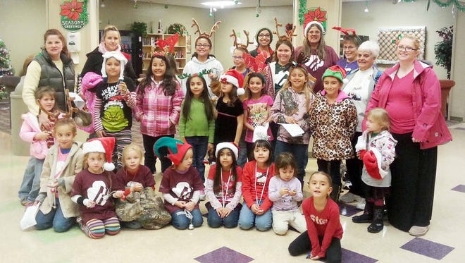 Girl Scouts of the Desert Southwest went to Fort Bayard and sang Christmas carols to the residents on Tuesday. Character, conduct, and community service are core qualities of Girl Scouting. For more information on Girls Scout call Annette Toney 575-538-2481.