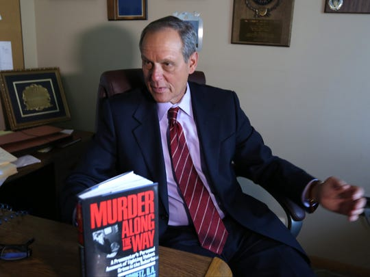 Former Rockland DA Kenneth Gribetz in his New City law office May 13, 2016. He tried Bernard LeGeros in the notorious murder of model Eigel Dag Vesti. LeGeros is eligible to be released earlry after serving 2/3 of his 30-year sentence..