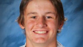 North Salem athlete Nick Raska.