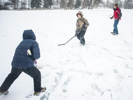 Gibson Pond Ice Skating