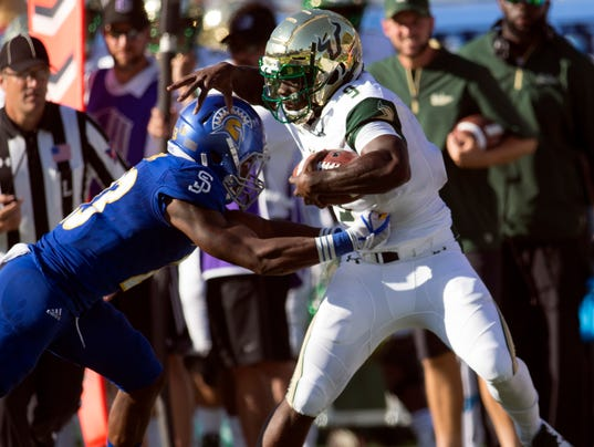 South Florida San Jose St Football