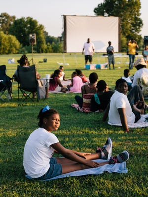 In this 2015 file photo, Jackson residents gather for Movies in the Park at Shirlene Mercer Park.