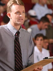 Florida State volleyball coach Chris Poole has led the Seminoles to six consecutive NCAA appearances.