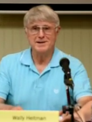 Wally Heitman, mayor of University Heights, is shown