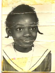 Dejerilyn King Henderson as a child
