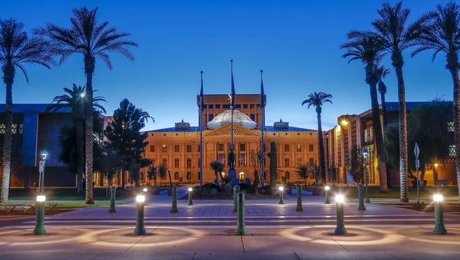 The Arizona Legislature convenes Jan. 8, 2018.