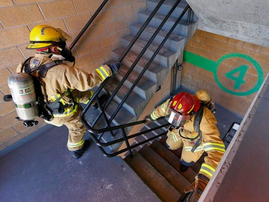 1 firefighter stairclimb