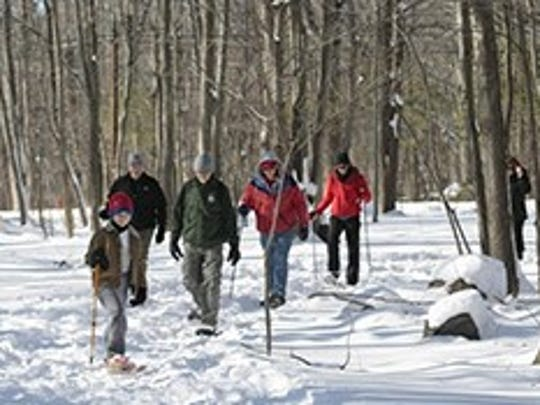 Pyramid Mountain will host Snowshoe Sundays for snowshoers
