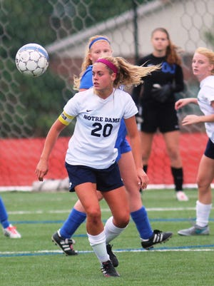 Notre Dame's Taylor Watts scored the only goal in the Pandas' win over Highlands on Wednesday.