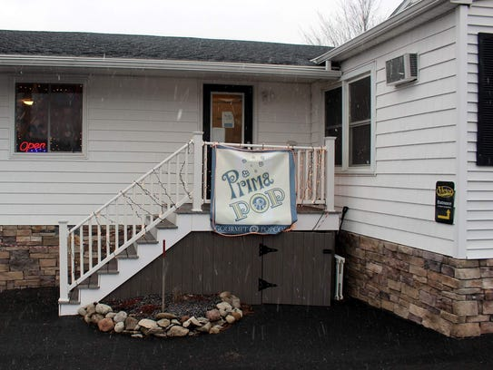 Prima Pop is tucked at the back of a house in Victor.