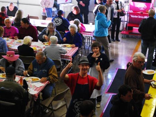 The Mehama Fire Station Sweetheart Benefit Breakfast gets a big two-thumbs up