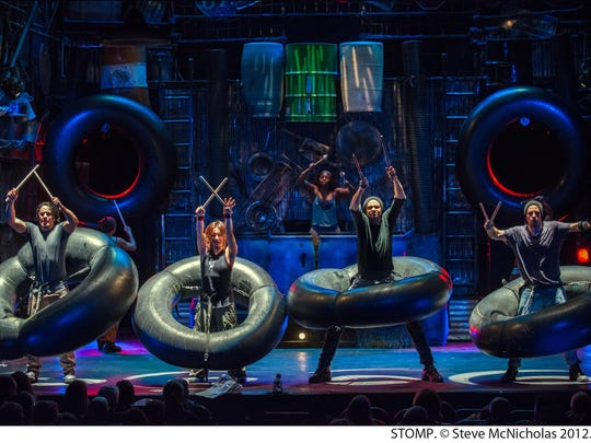 """""""Stomp"""" has been making music out of everyday objects for 25 years."""