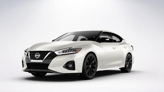The 300-horsepower, 3.5-liter V6 engine engine of the 2020 Nissan Maxima delivers 261 pound-feet of torque.