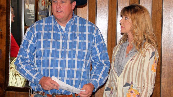 Scott and Collette Chandler announced his running for NM State Representative (Dist. 32).