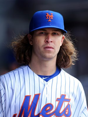 Jacob DeGrom will start Sunday against the Atlanta Braves.