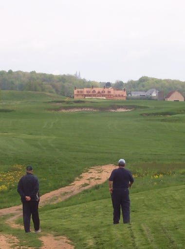 These photos from former Erin Hills owner Bob Lang show the golf course as it was beginning to take shape from 2004-'06.