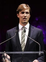 Jared Kushner speaks at the FINCA 25th Anniversary Creating Pathways Out of Poverty event at Capitale Bowery on in New York City.