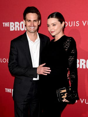 Miranda Kerr and Evan Spiegel have welcomed a son.