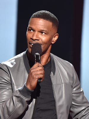 Jamie Foxx at the 2015 iHeartRadio Music Awards.