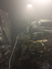 An image taken by Indian River Vol Fire Company while