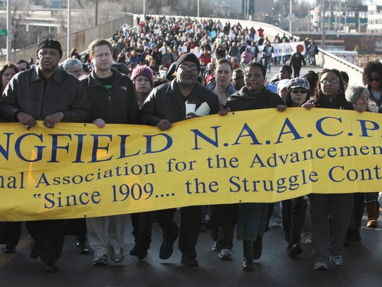 Springfield's Martin Luther King Day march is Jan.