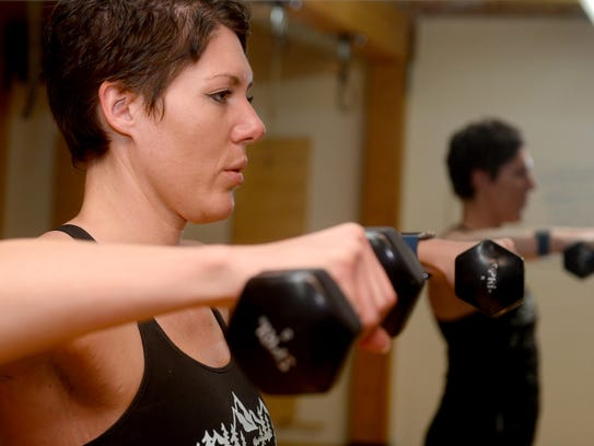 Kayla Webber, who is a Les Mills fitness instructor
