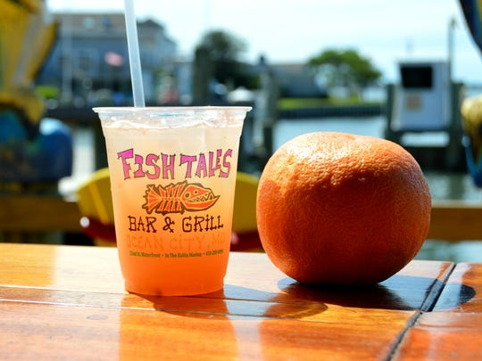 Fish Tales' Grapefruit Crush.