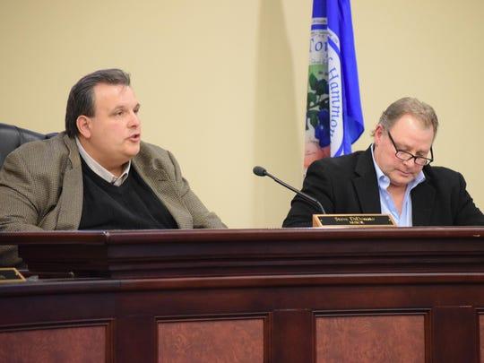 Hammonton Mayor Steve DiDonato and Folsom Mayor Louis