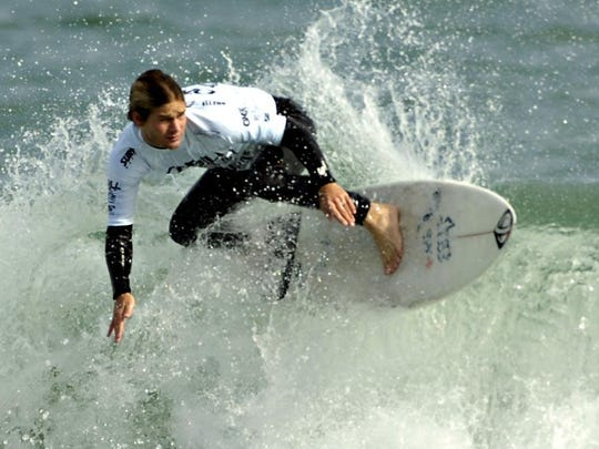 Eddie Guilbeau, shown during the 2009 O'Neill Sebastian Inlet Pro, returns to competition this week in the Beach 'N Boards Fest in Cocoa Beach.
