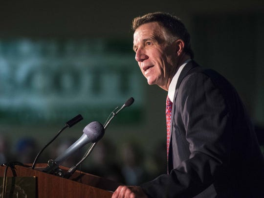 Lt. Gov. Phil Scott is seeking the Republican nomination for governor.