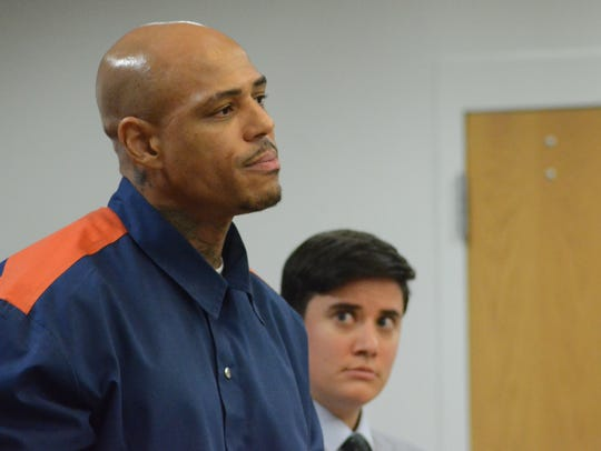 Terrence Kelly with his attorney, Sofia Nelson.
