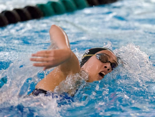 Northville's Lauren Heaven was All-State in two relays