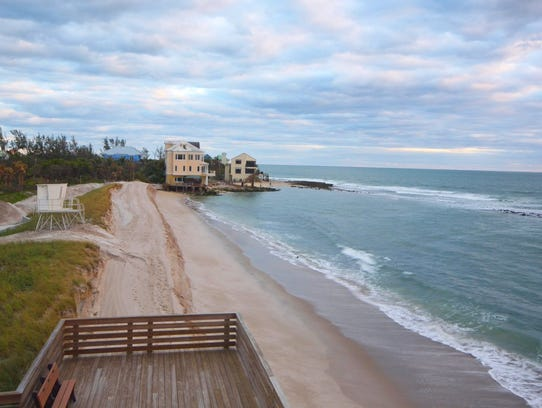 Bathtub Beach will reopen at 10 a.m. Oct. 27, 2017.