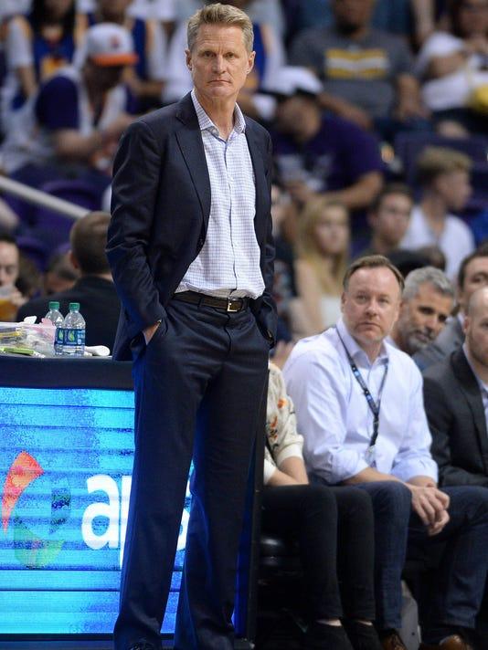USP NBA: GOLDEN STATE WARRIORS AT PHOENIX SUNS S BKN PHX GSW USA AZ