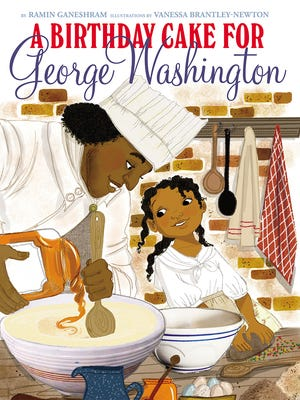 "This image provided by Scholastic shows the cover of the book """"A Birthday Cake for George Washington"" by by Ramin Ganeshram. Scholastic annonced Sunday, Jan. 17, 2016, that it is pulling the controversial new picture book about George Washington and his slaves. ""A Birthday Cake for George Washington"" was released Jan. 5 and had been strongly criticized for its upbeat images and story of Washington's cook, the slave Hercules."
